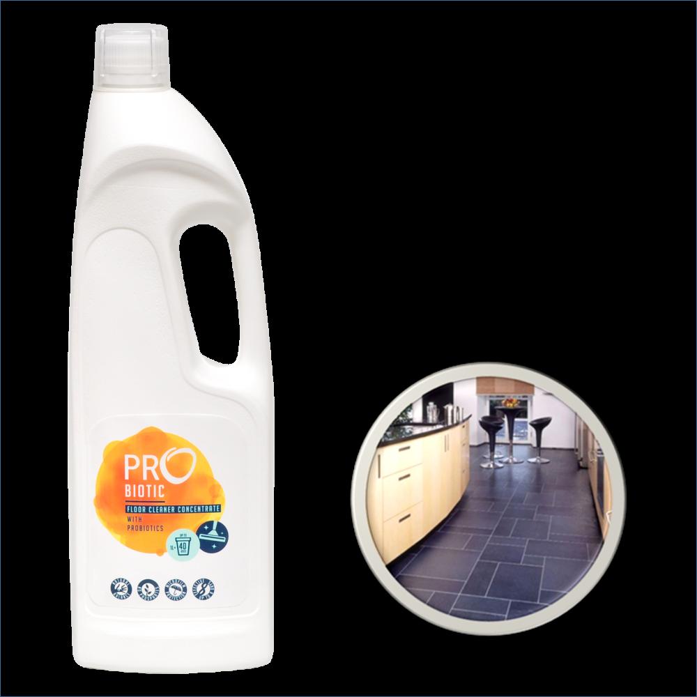 PROBIOTIC koncentruotas universalus grindų ploviklis su probiotikais, 900 ml