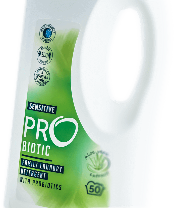 Ecological laundry and cleaning detergents – Probiosanus