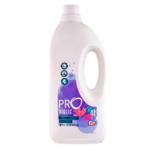 PROBIOTIC LIGHT ekologiškas skalbimo skystis su probiotikais, levandų kvapo, 1500 ml, 25 skalbimai
