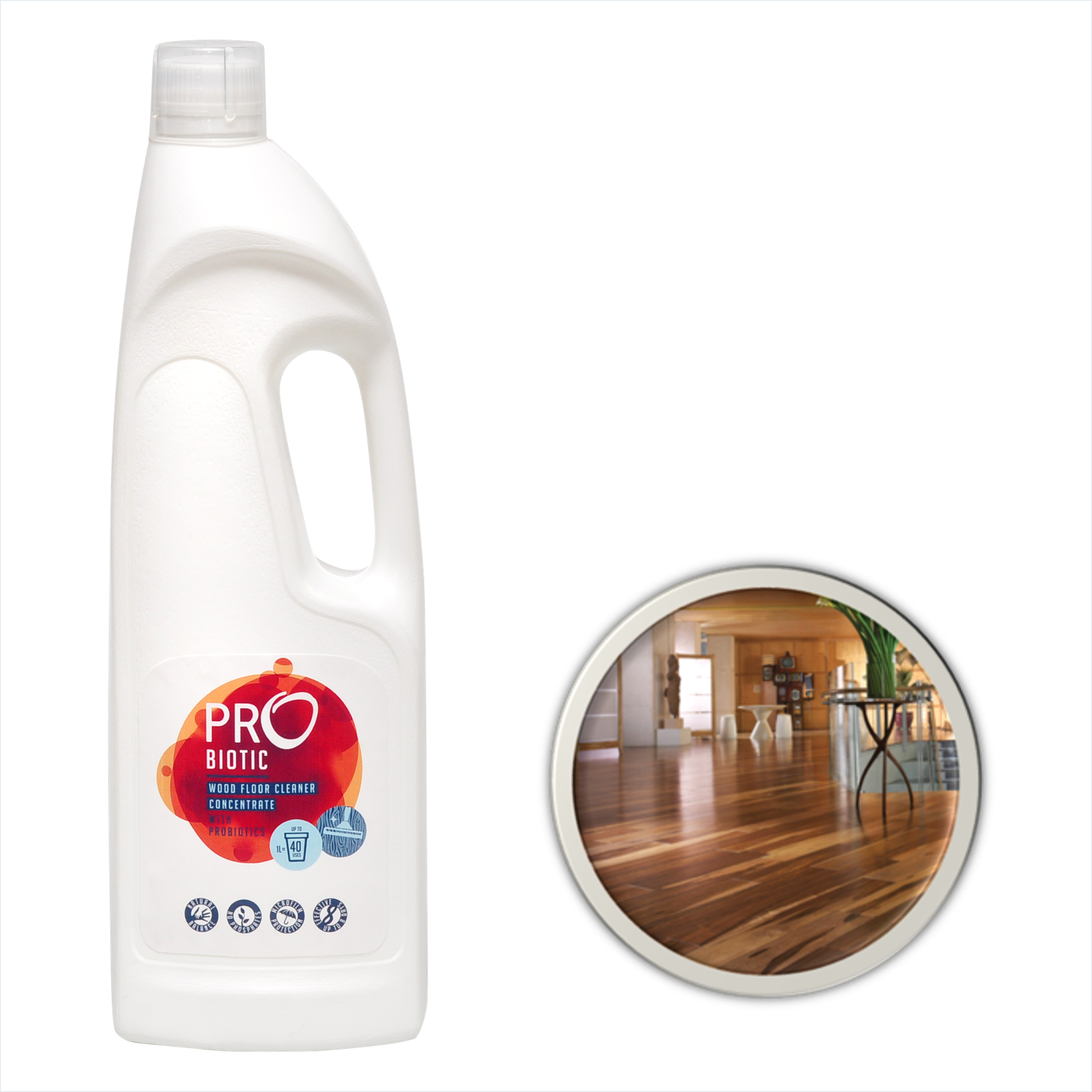 Probiotic Concentrated Wooden Floor Cleaner With