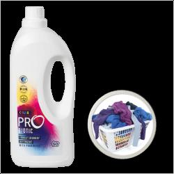 PROBIOTIC koncentruotas ekologiškas skalbimo skystis su probiotikais, spalvotiems audiniams, 1500 ml, 50 skalbimų